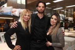 Patricia Iglesias, Andre Coutinho e Nathalia de Albuquerque
