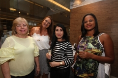Patricia Machado, Selma Travassos, Silvana Sampaio e Ana Lucia Nascimento