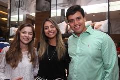 Rafaella de Paula, Gabriela Lins e Roberto Lins