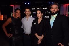 Daniela Falcão, João Paulo Siqueira, Stephanie Wenk e Jeff Ares - Crédito: Roberto Ramos/DP