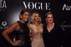 Daniela Falcão, Juliana Santos e Lília Santos