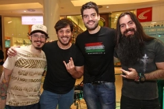 Banda Papaninfa - Walman Filho, Jorge Rodrigues, Rafael Furtado e Thiago Rolim. (Copy)