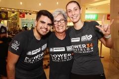 Igor Leao, Fatima Almeida e Priscilla Rego