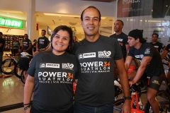 Luciana Lins (representante da Secretaria de Esportes do Recife) e Victor Lins (presidente da Federacao PErnambucana de Triathlon). (Copy)