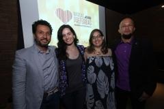 Amandio Cardoso, Luiza Figueiredo, Anchielly Barros e Leo Miranda da Circo
