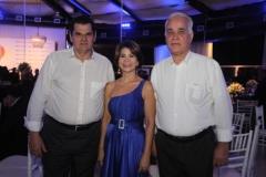 Oswaldo Lessa, Kátia Tavares e Jorge Queiroz
