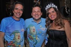 Mauricio Rands, Geraldo Julio e Patricia Rands.