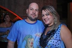 Ricardo Domingues e Fabiana Leite.