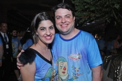 Paula Figueiredo e Guilherme Gondim.