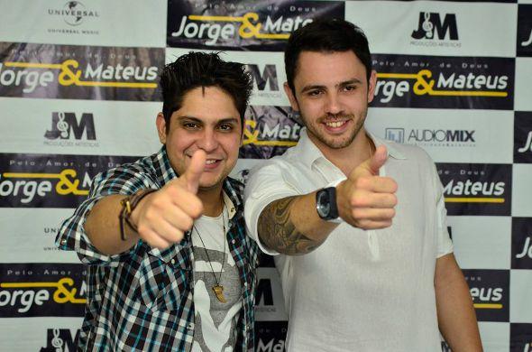 Jorge e Mateus // Foto: Danilo Sá/GO Imagens