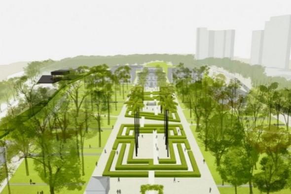 Projeção do futuro Parque da Tamarineira - Foto: Divulgação