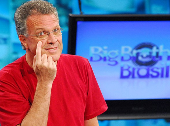 Pedro Bial, à frente do BBB desde sua primeira edição - Crédito: TV Globo/Divulgação