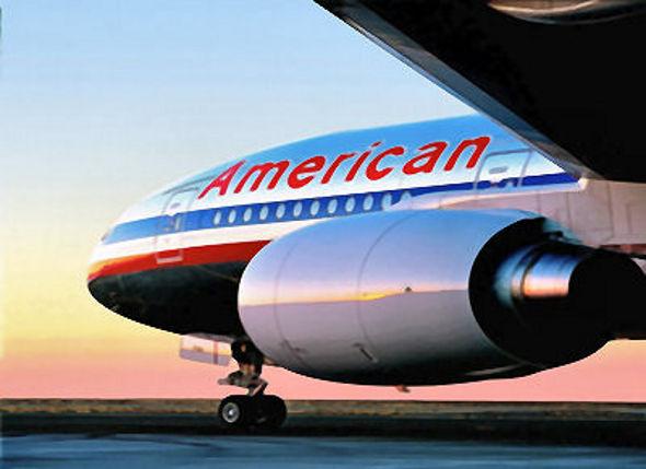 Avião da América Airlines - Crédito: Divulgação