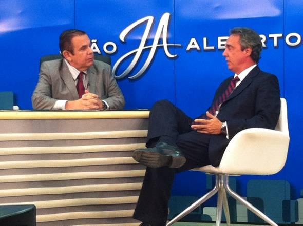 Evandro Carvalho é o entrevistado do programa João Alberto deste sábado. Crédito: Tatiana Sotero / DP / D.A Press