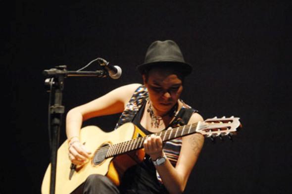 Maria Gadú - Crédito: Nando Chiappetta/DP/D.A Press