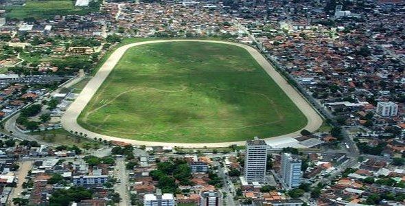 Vista aérea do Jockey Club de Pernambuco - Foto: Reprodução