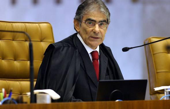 Carlos Ayres Brito/Reprodução