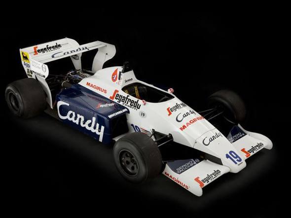 Carro de Ayrton Senna/Divulgação