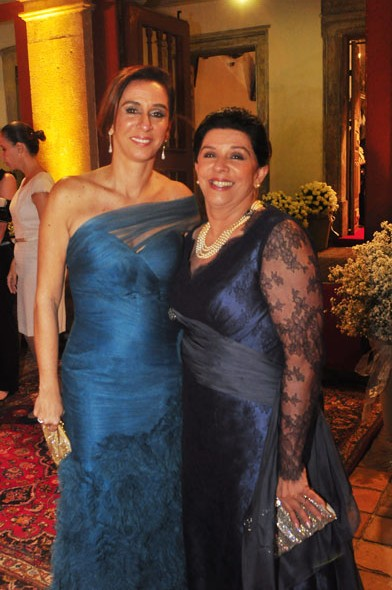 Patrícia Gomes e a mãe, Celinha Batista - Crédito: Nando Chiappetta/DP/D. A Press