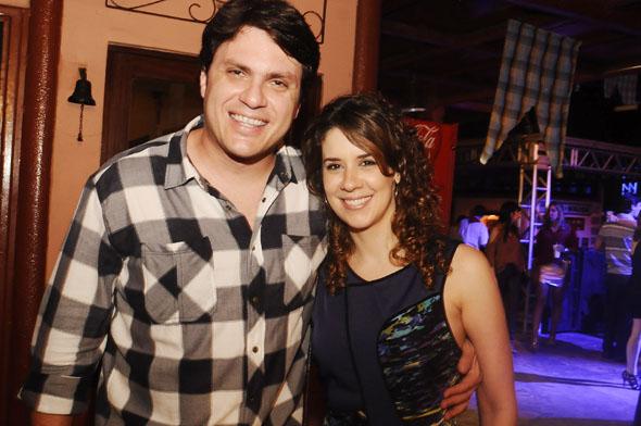 Thiago Figlioulo e Juliana Fernandes - Crédito : Nando Chiappetta/DP/D.A Press