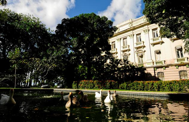 Jardins do Palácio do Campo das Princesas - Foto: Andréa Rêgo Barros/SEI