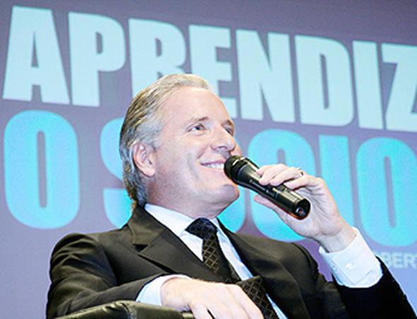 Roberto Justus  - TV Record/Divulgação
