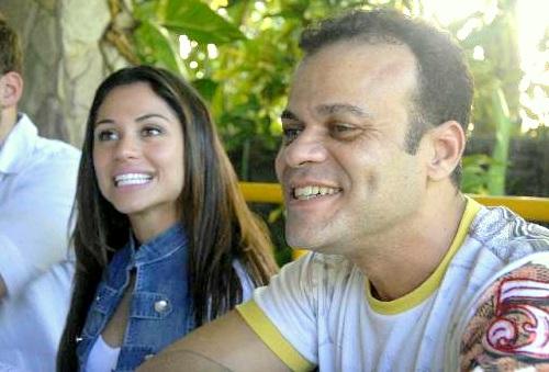 Daniel Rolim e Maria  - Crédito:  Blenda Souto Maior/DP/D.A Press