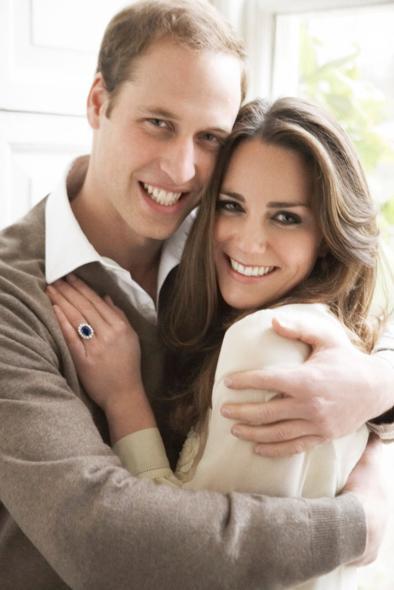 Príncipe William e a princesa Kate Middleton estão casados desde abril de 2011 -  Crédito: Mario Testino/Divulgação