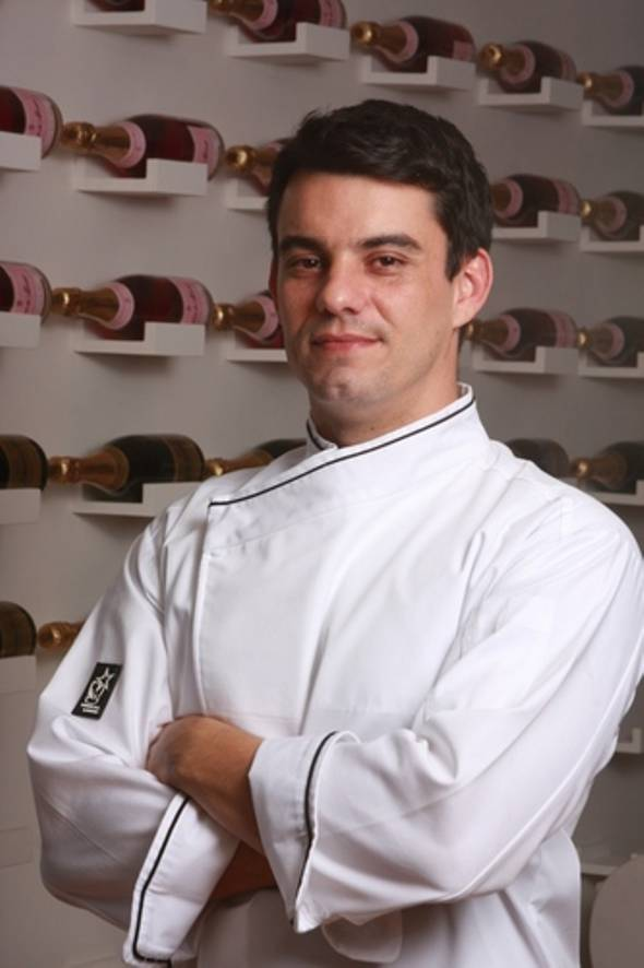 Chef Hugo Prouvot - Crédito: Twitter Oficial
