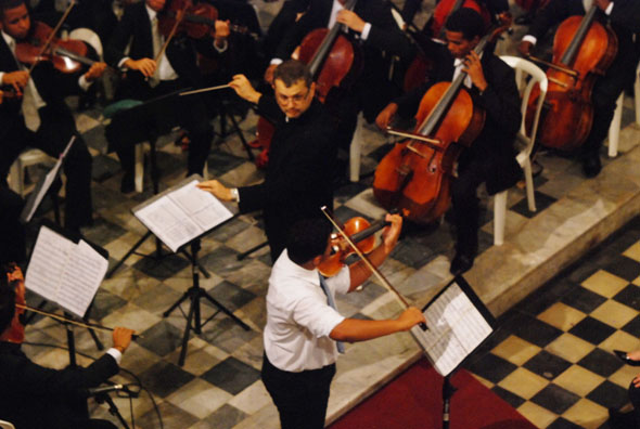 Orquestra Criança Cidadã, Crédito: Nando Chiappetta/DP/D.A Press.