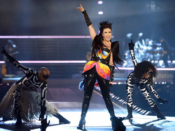 Ivete Sangalo no Madison Square Garden - Foto: AP