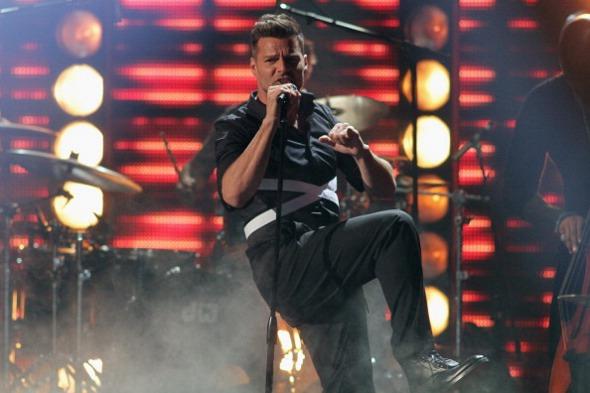 Ricky Martin - Crédito: : Univision Radio/Divulgação
