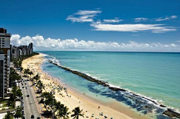 Praia de Boa Viagem -Foto: Rafa Medeiros/Prefeitura do Recife