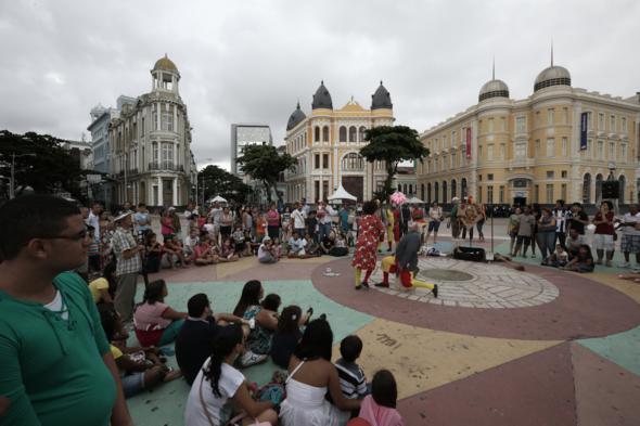 Recife Antigo de Coração - Crédito: Teresa Maia / DP / D.A Press