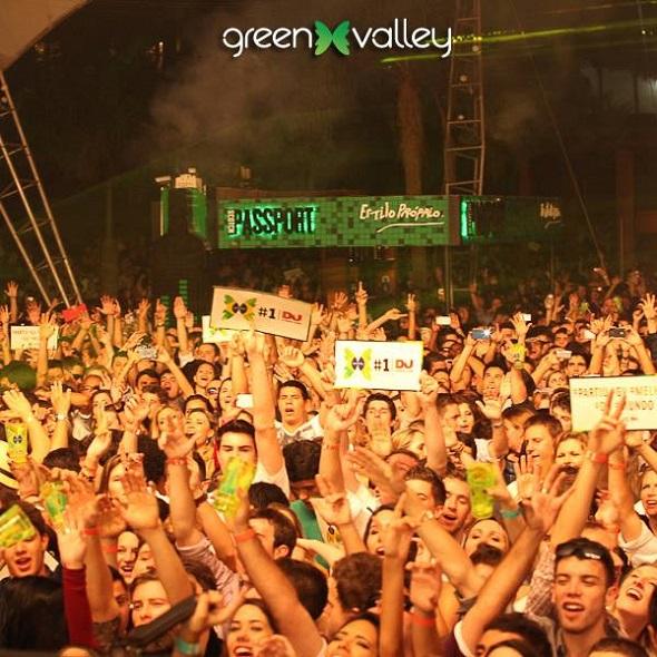 Recife terá festo do Green Valey - Crédito: Reprodução Facebook