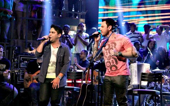 Jorge & Mateus - Crédito: TV Globo/Divulgação