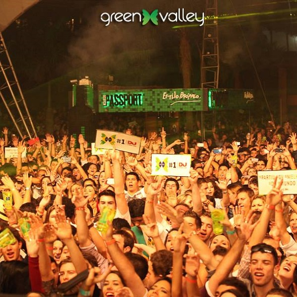 Recife terá festa da Green Valley – Crédito: Reprodução Facebook