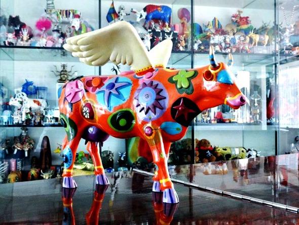 Angelicow foi a primeira da coleção, comprada em Madrid há 10 anos - Crédito: Zezinho Santos/Divulgação