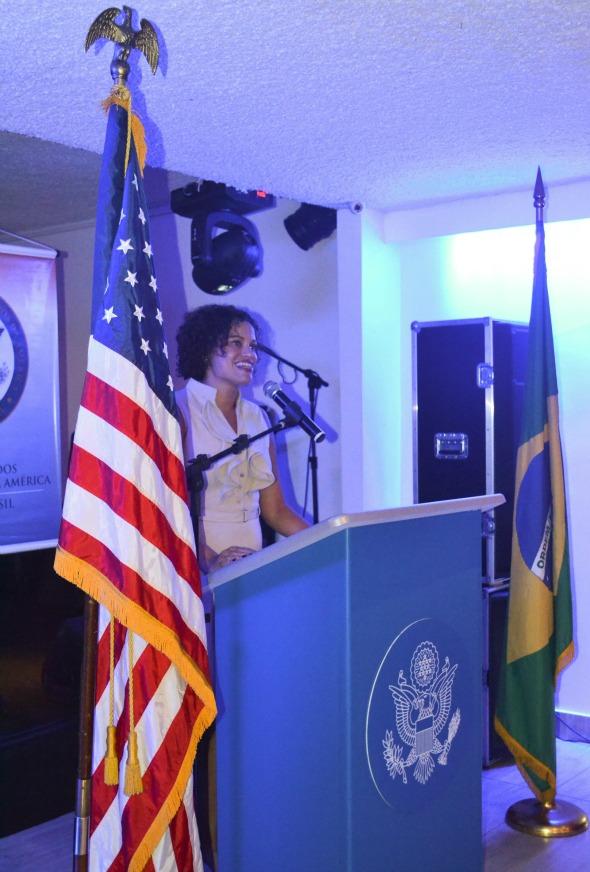Usha discursa Crédito: Laís Siqueira/DP/D.A Press