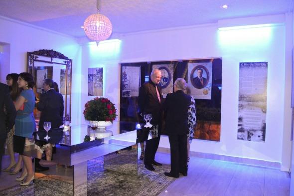 Local onde as fotografias da exposição estavam expostas Crédito: Laís Siqueira/DP/D.A Press