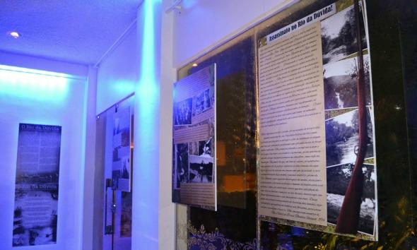 Parte da exposição fotográfica Crédito: Laís Siqueira/DP/D.A Press