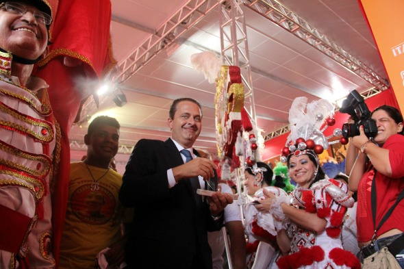 O governador Eduardo Campos Crédito: Arthur de Souza / DP / D.A Press