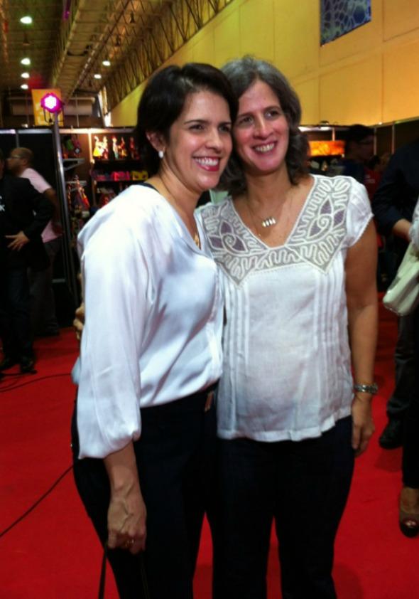 As primeiras-damas Cristina Melo e Renata Campos Crédito: Arthur de Souza / DP / D.A Press