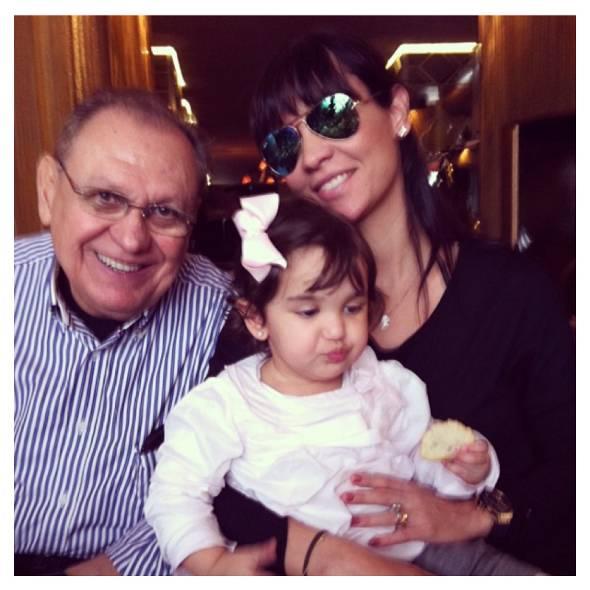 Paulo Sérgio Macêdo e Juliana com a filha Maria Vittória - Foto: Instagram/Reprodução