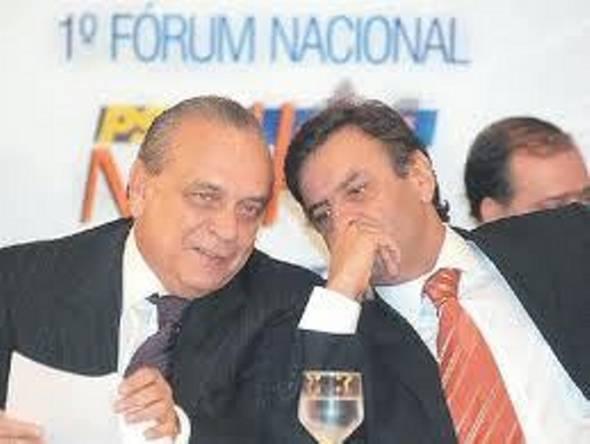 Sérgio Guerra e Aécio Neves - Foto: Divulgação