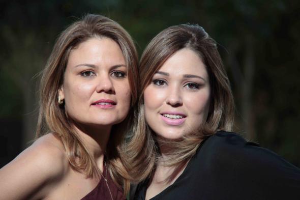 Tereza Roberta Maranhão e Maria Alice Melo. Crédito: Arquivo pessoal / Divulgação