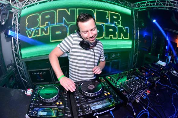 DJ Sander Van Doorn - Crédito: Gabriel Ferreira/Divulgação