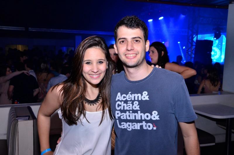 Lucas Costa e Camila Gueda - Crédito: Gabriel Ferreira/Divulgação