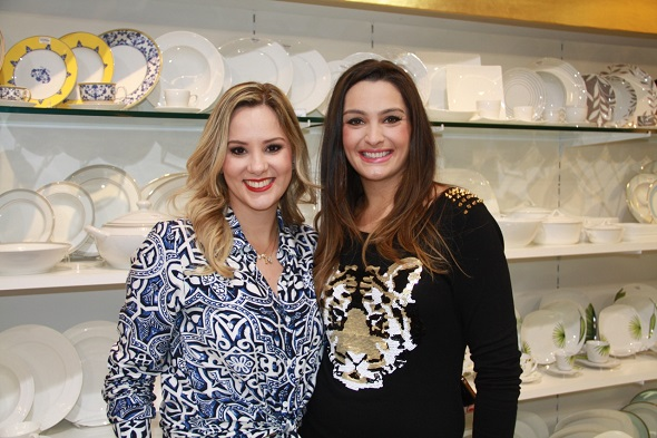 Melina Amorim e Ana Maria Pimenta - Crédito: Divulgação