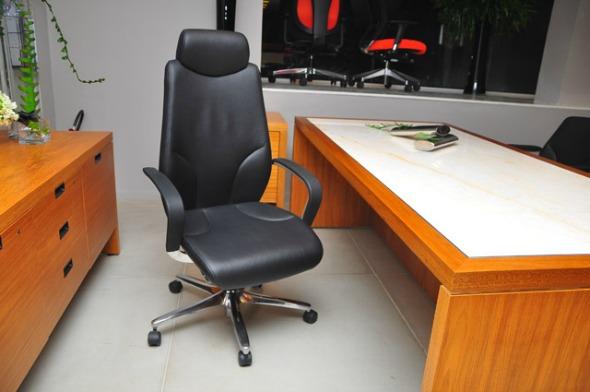 Cadeira que o governador Eduardo Campos tem Giroflex-forma  Crédito: Bruna Monteiro/DP/D.A Press